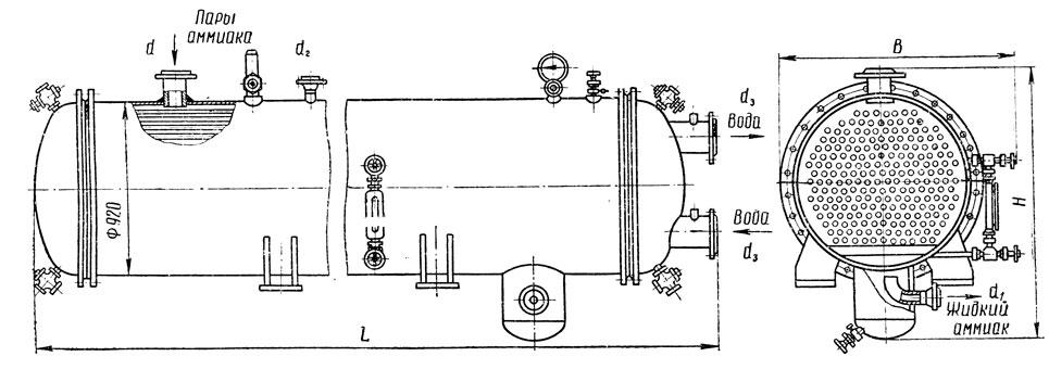 Расчет вакуумных теплообменников конденсаторов теплообменник на котел газлюкс купить заказать в воронеже
